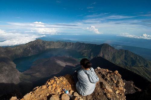 Climbing Journal Mount Rinjani package