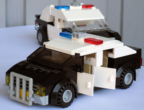 4 seater police cruiser
